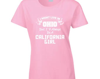Californian Girl T Shirt