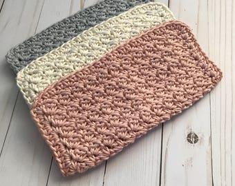 Crochet washcloths / Cotton washcloth / Cleaning cloths
