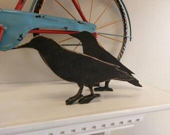 Primitive Crow Cutout
