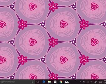 Pink abstract Floral Digital Drawing, Computer Wallpaper, desktop background, Digital download, digital print, laptop screensaver