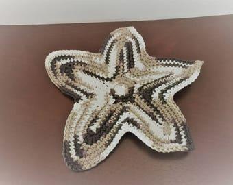 Starfish Dishcloth