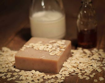 Honey & Oatmeal Goats Milk Soap