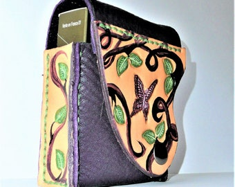 Cigarettes + leather lighter case original Butterfly