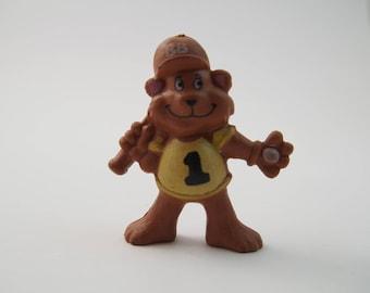 Berry Bears Fruit Snacks Premium toy bear Baseball vintage
