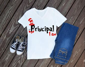 Principle I Am Women's T-Shirt, Dr Seuss Shirts, Dr Seuss