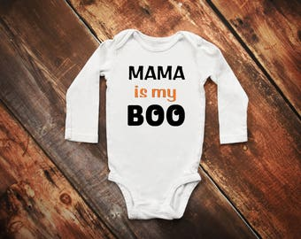 MAMA is my BOO Bodysuit