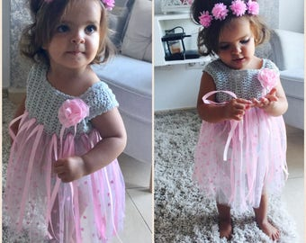 Pink Ribbons Fairy Dress