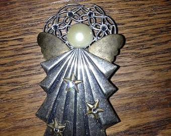 celestial angel brooch