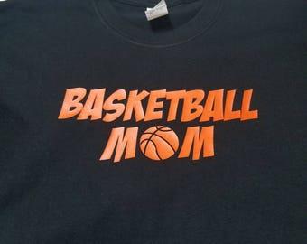 Basketball Mom/Mom tshirt