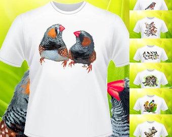 Zebra finch T-shirt