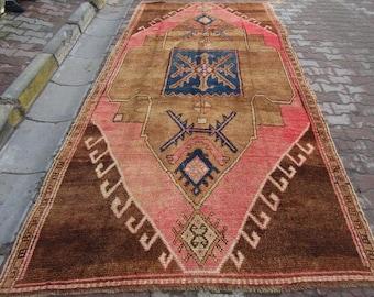 6x12 Ft Unique carol vintage Kurdish Herki rug