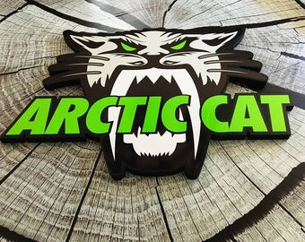 Arctic Cat PVC frame personalized ATV, snowmobile Side by side logo off-road 4 wheels