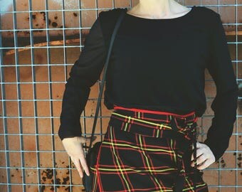 Mini KILT SKIRT in Tartan