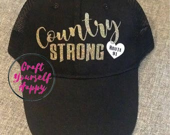 Route 91 country strong hat