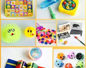 Emoji Yellow Travel Sensory & Fidget Toys Set