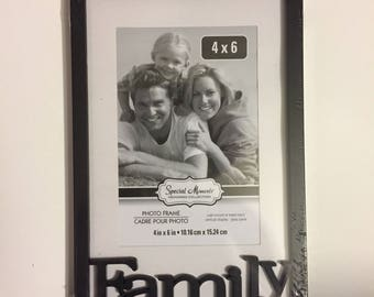 Custom 4x6 Picture Frame