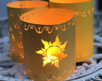 Tangled Lantern | Rapunzel Lantern | Small Paper Lantern Variety Pack