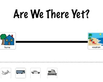 Are We There Yet?  Visual Travel Tracker