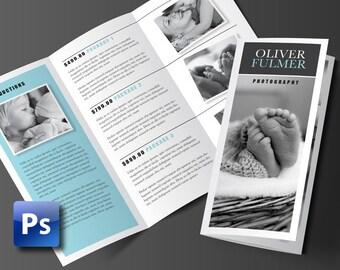 Printable Brochure Design Rack Brochure Fold Flyer - 2 panel brochure template