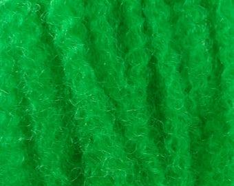 Marley Braid Kanekalon Hair Extensions, Dark Green
