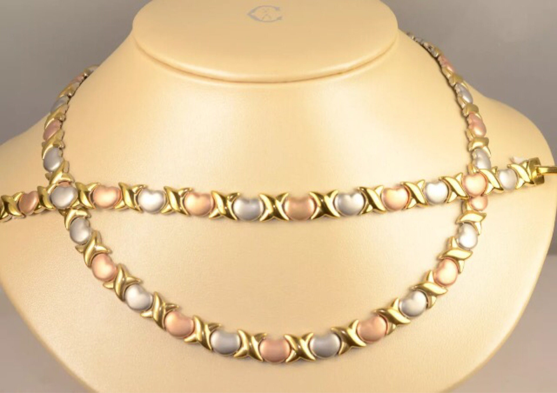 XOXO-Necklace & Bracelet Set