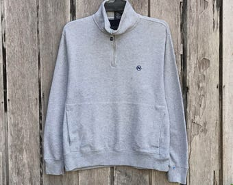 Vintage!!! Rare nautica competition small logo sweatshirts jumper