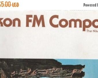 NIKON FM Compact 1978 Fold Out Manual