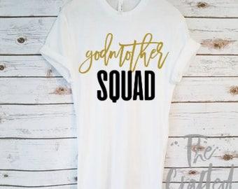 Godmother Shirt / Godmother Gift / Aunt Shirt / New Aunt Gift / Pregnancy Announcement Shirt / Gender Reveal Shirt / Baby Shower Gift
