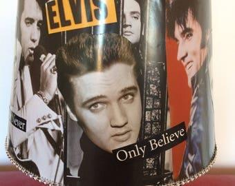 """Elvis """"Love Me Tender"""" Lovely Lamp."""