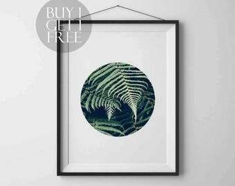SALE 50% Tropical Leaves Modern art Nature Leaf Print Printable Palm Leaf Instant download Printable art Wall art Nature poster