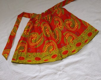 Short Ankara Skirt