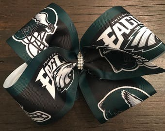 Philadelphia Eagles XLarge Boutique Bow