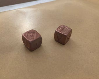 Han Solo dice 19mm each (includes 2 dice)