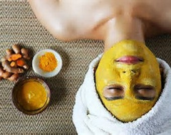 Tumeric Probiotic Face healing face and body mask