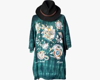Acid wash t-shirt•Festival clothing•Australian travel t-shirt•Aboriginal art t-shirt•90s clothing•Churinga tshirt•90sTribal style t-shirt•XL