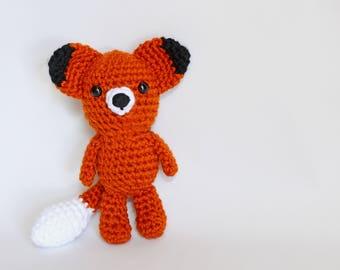 Crochet Fox, Amigurumi Fox, Fox Stuffed Animal, Stuffed Fox