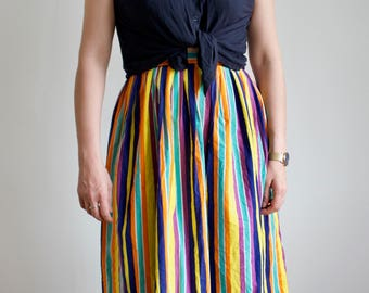 Vintage Rainbow Women's Skirt