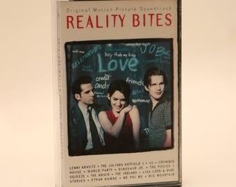 Reality Bites Original Soundtrack Cassette Tape 1990s Winona Ryder Ethan Hawke Ben Stiller Janeane Garofalo