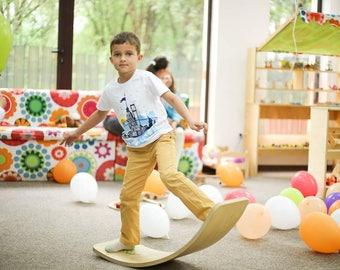 KidBoard / Waldorf Rocker Board / Balance Board / Wooden board /Wooden Toy / Montesori / Christmas gift / Children gift /