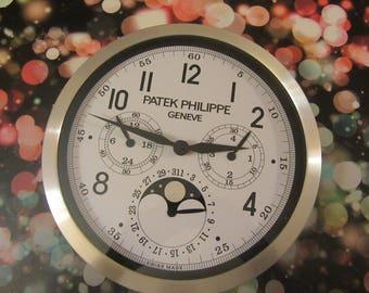 Personalising PATEK PHILIPPE CLOCK