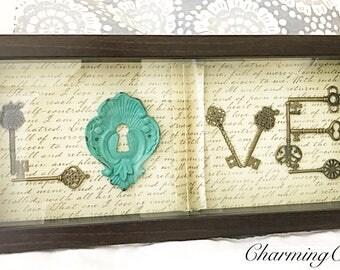 Key to LOVE frame