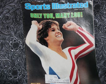 Sports Illustrated August 13, 1984