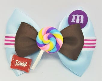 Vanellope Von Schweetz Bow | Vanellope Inspired | Wreck It Ralph Inspired | Disney Inspired Hair Bow
