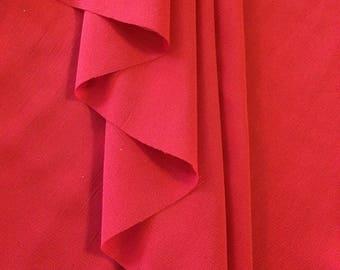 Girls Chiffon Ballet Wrap Skirt - Crimson