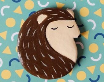 Handmade Hedgehog Magnet