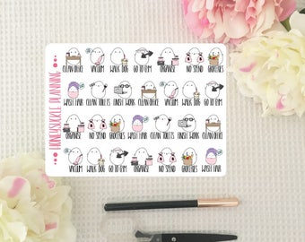 Goal Planner Stickers