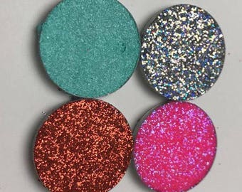 Pressed Glitter Palette Customizable 4 Piece PaletteCruelty Free