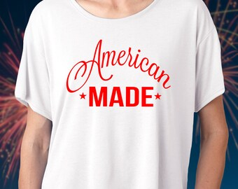 July 4th Shirt - 4th of July Shirt - Merica Shirt - American Flag Shirt - USA Shirt - American Flag - 4th of July Womens - July 4th Womens