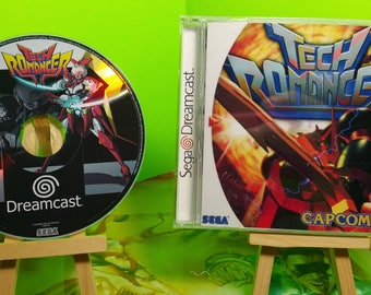 Tech romancer custom reproduction case with free art disc and roms