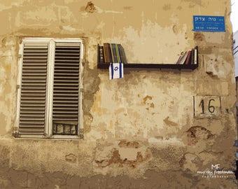 Tel Aviv Bookshelf